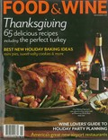 Food & Wine Magazine, November 2011