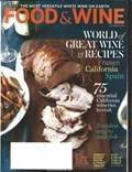 Food & Wine Magazine, October 2013