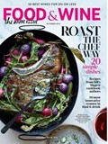 Food & Wine Magazine, October 2014: The Wine Issue