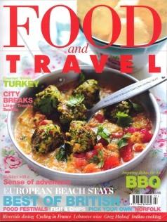 Food and Travel Magazine, July 2012