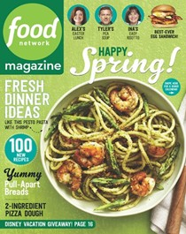 Food Network Magazine, April 2016