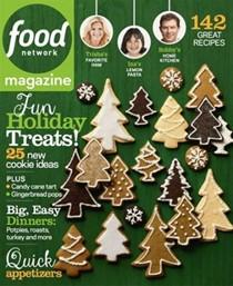 Food Network Magazine, December 2013