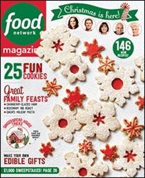 Food Network Magazine, December 2015