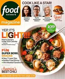 Food Network Magazine, Jan/Feb 2014