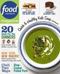 Food Network Magazine, Jan/Feb 2015