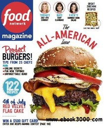 Food Network Magazine, Jul/Aug 2015: The All-American Issue