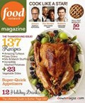 Food Network Magazine, November 2011: The Thanksgiving Issue