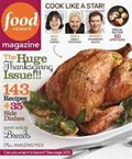Food Network Magazine, November 2012: The Huge Thanksgiving Issue