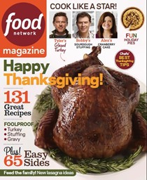 Food Network Magazine, November 2013