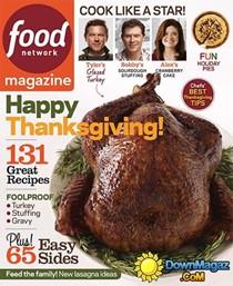 Food Network Magazine, November 2014
