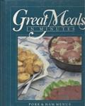 Great Meals In Minutes: Pork & Ham Menus