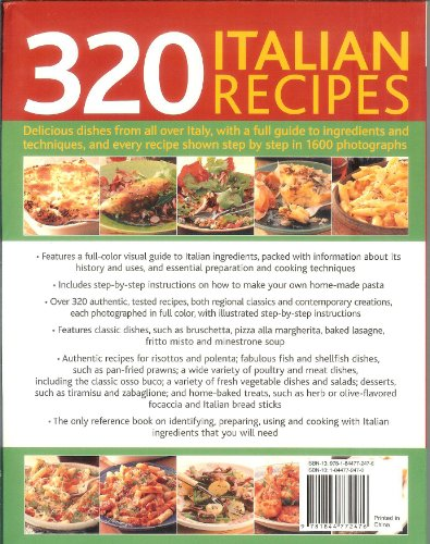 Italian Cooking: 320 Italian Recipes