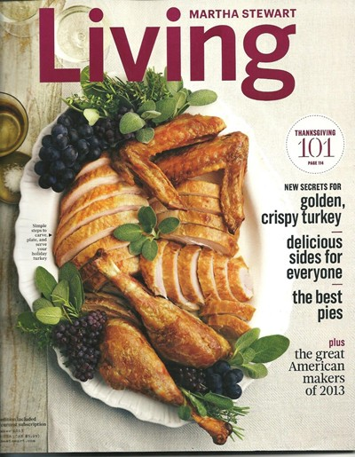 Martha Stewart Living Magazine, November 2013
