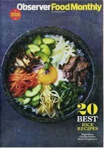 Observer Food Monthly Magazine, January 24, 2016: Special Edition: 20 Best Rice Recipes