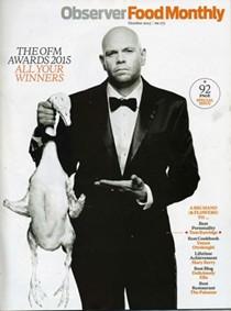Observer Food Monthly Magazine, October 2015