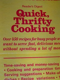 Quick, Thrifty Cooking