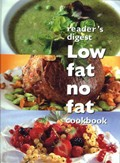 Reader's Digest Low Fat, No Fat Cookbook