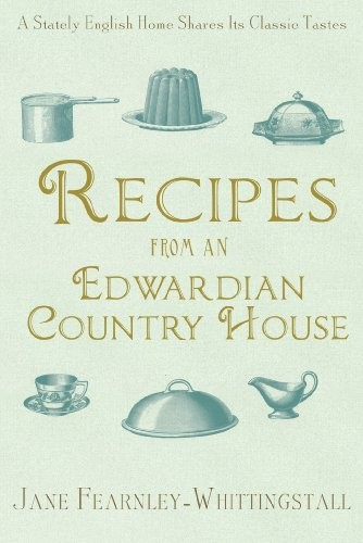 Recipes from an Edwardian country