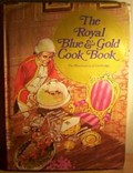 Royal Blue and Gold Cook Book