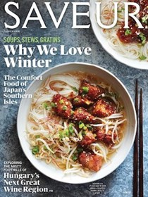 Saveur Magazine, Jan/Feb 2016 (#180)