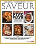 Saveur Magazine, November 2010 (#133)