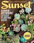 Sunset Magazine, April 2014