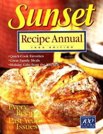 Sunset Recipe Annual 1999 Edition