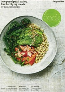 The Guardian Cook supplement, January 16, 2016