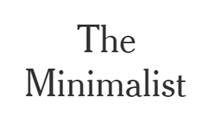 The Minimalist at The New York Times