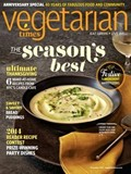 Vegetarian Times Magazine, November 2014: 40th Anniversary Special